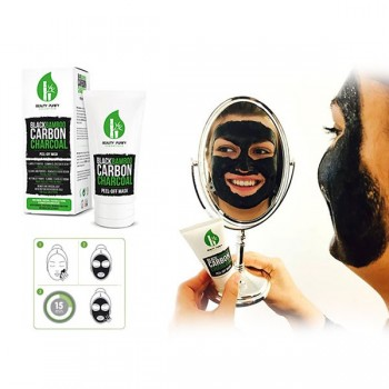 Black bamboo carbon charcoal peel-off mask - Beauty Purify