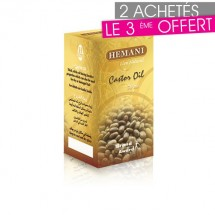 2+1 Gratuit : Huile de ricin pour cheveux 30 ml - Hemani