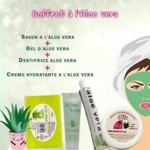 Coffret soins à l'Aloe Vera pour corps et visage