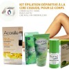 SET 3 Permanent Body Hair Removal, Roll-on Wax