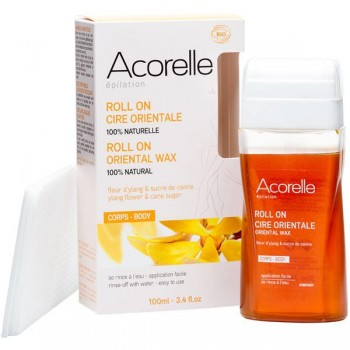 Roll-on organic oriental sugar wax - Acorelle