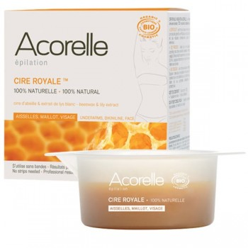 Organic stripless royal wax for sensitive parts - Acorelle