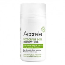 Organic long-lasting roll-on deodorant with alum crystals and meadowsweet floral water - Acorelle