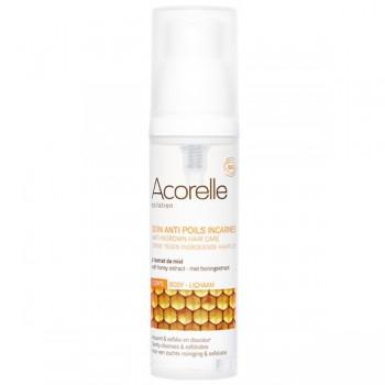 Soin 100% bio à l'extrait de miel anti-poils incarnés en spray – Acorelle