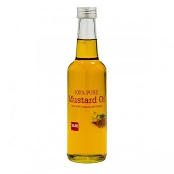 Huile de Moutarde, naturelle, pour corps et cheveux 250 ml - Yari