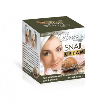 Snail cream Hemani - 80g + free soap