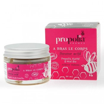 Organic active balm treatment - Propolis/Shea butter/Honey - Propolia