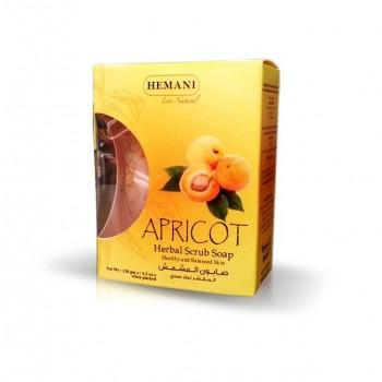 Savon exfoliant aux noyaux d'abricot - Hemani