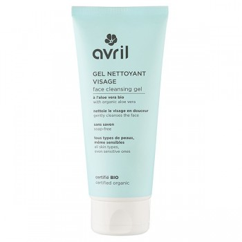 Organic Face Cleansing Gel - Aloe Vera, Marigold - Avril
