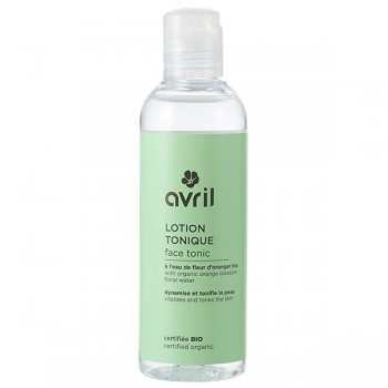 Organic Tonic Lotion - Sweet Almond and Orange Blossom - Avril