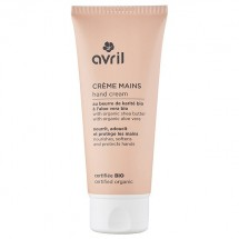 Organic hand cream with shea butter and cranberry by Avril