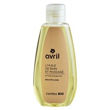 Organic bath and massage oil - Avril