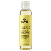 Organic nourishing body dry oil with argan oil by Avril