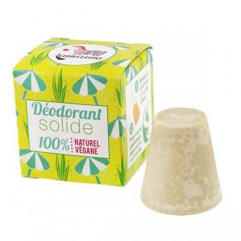 Déodorant solide vegan à l'huile essentielle de Palmarosa bio - Lamazuna