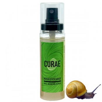 Pure Snail Slime Fluid 60 ml - CURAE