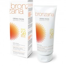 UV Protection Facial Cream SPF50 Tan Activator - Bronzana