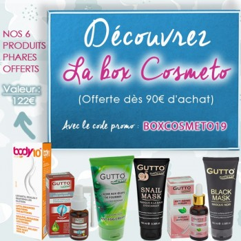 Cosmeto Box 2019 Offerte dès 90€ d'achat !
