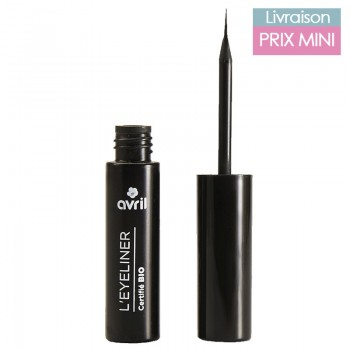 Organic Liquid Eyeliner - Jojoba Oil - Avril