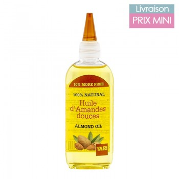 Sweet almond oil, nourishing and anti-aging 110 ml - Yari