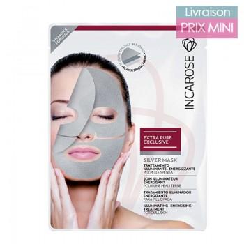 Masque Argent (Silver Mask), Soin Visage Illuminateur - Incarose