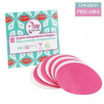 10 Pads units Refill pack - reusable makeup remover pads Lamazuna