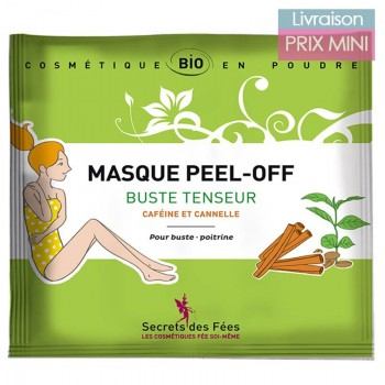 Organic Peel-Off Mask - 7 Properties - Secrets des Fées