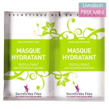 Masque Hydratant Visage à l'Aloe Vera Bio - Secrets des Fées