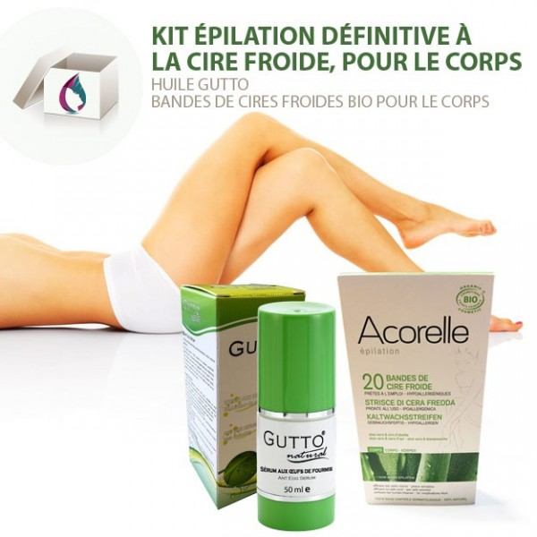 epilation cire froide