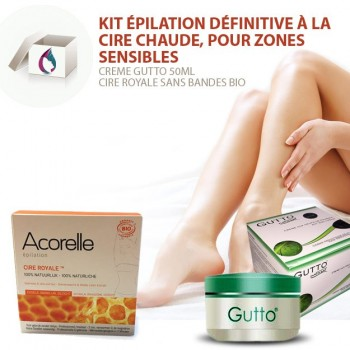 epilation zone sensible